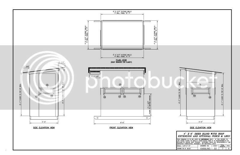 Diy Wood Design Deer Stand Plans 4x6