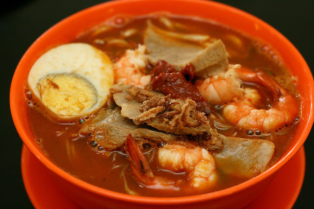 Penang Hokkien Prawn Noodles in Soup