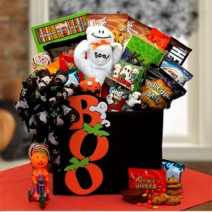 Boo Happy Halloween Gift Basket At Gift Baskets Etc