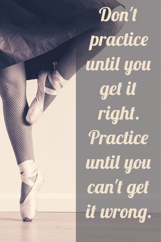 Practice Makes Perfect Quote Picture