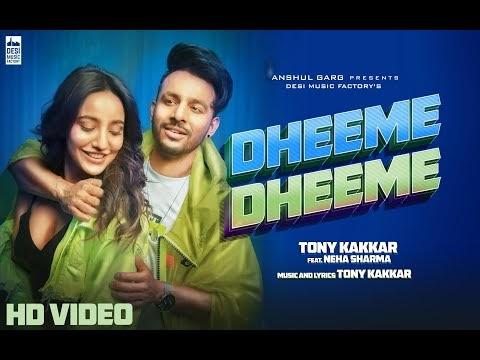 Tube Musica| Dheeme Dheeme-Tony Kakkar ft. Neha Sharma| Official Music Video