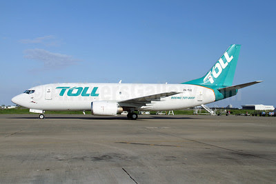 Toll Group Boeing 737-3S1 (SF) ZK-TLE (msn 24834) BNE (Peter Gates). Image: 908110.