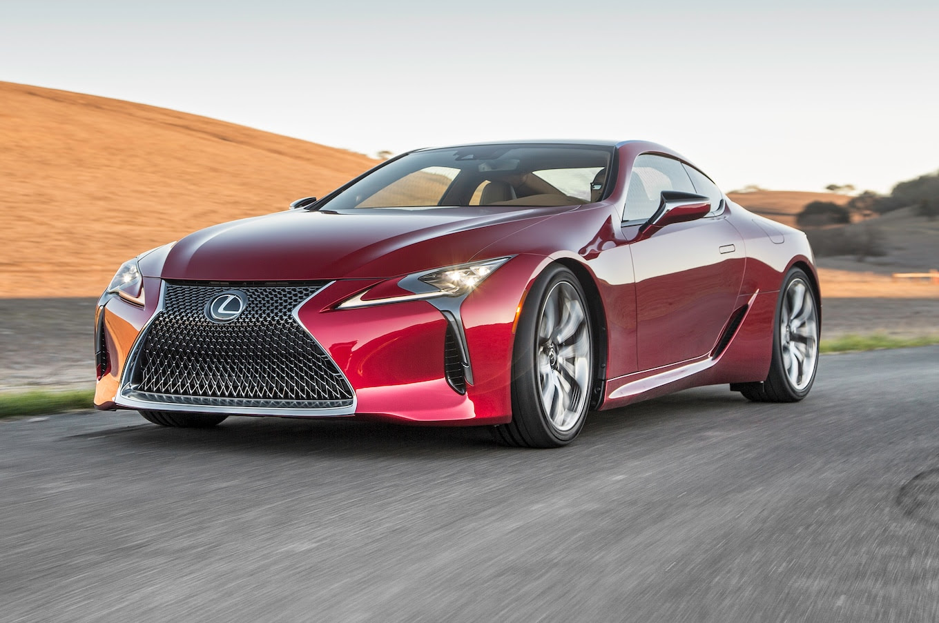 2018 Lexus LC 500 Packs 471 HP, Goes On Sale Next May