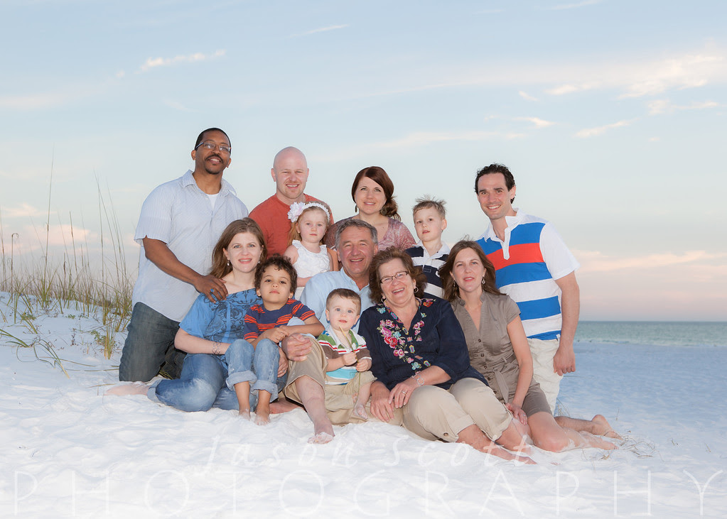 Bollinger Family at Island House on Siesta Key, February 2013