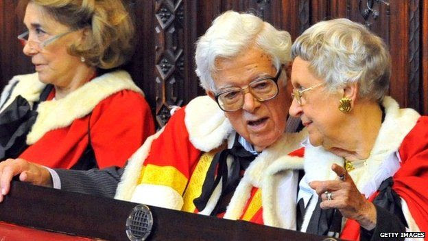 Geoffrey Howe in the House of Lords
