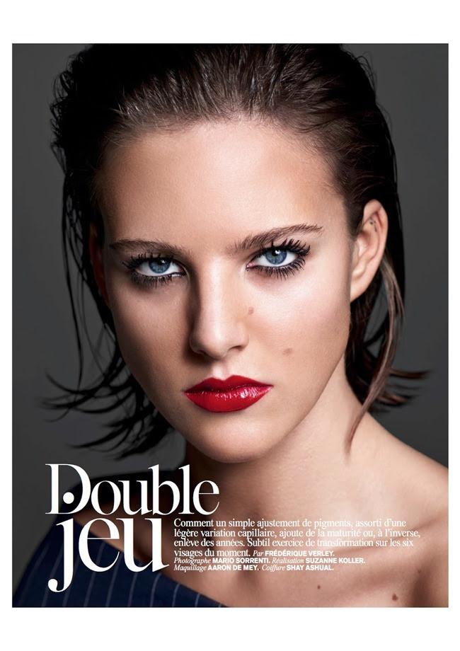 Vogue Paris Double Jeu By Mario Sorrenti Image Amplified