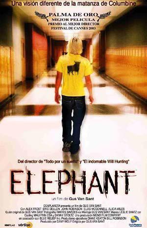 Resultado de imagem para elephant gus van sant poster