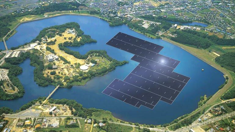 Kyocera y Century Tokyo Leasing construirán la planta solar flotante más grande del mundo.