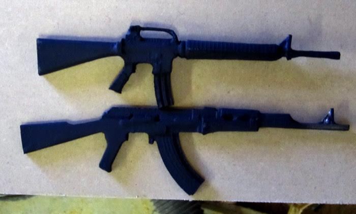 Gnome Assault Rifles