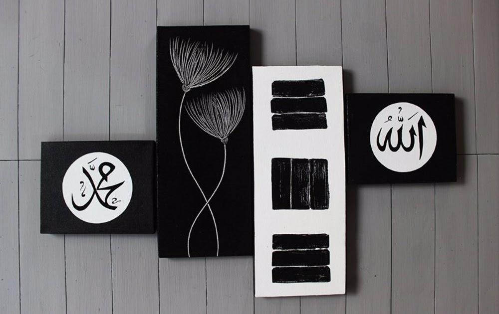 poster dinding kamar cowok keren hitam putih