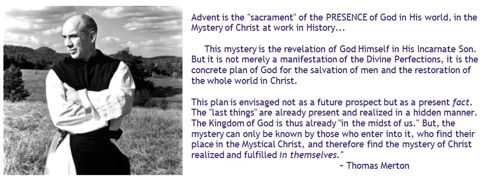 Thomas Merton Advent