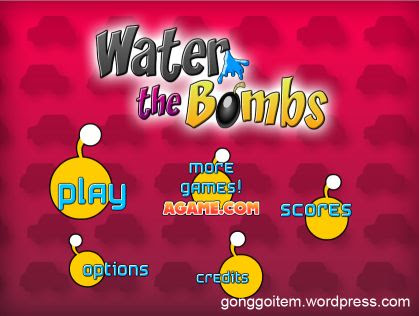 Water the bombs