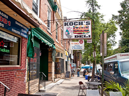 Koch's storefront