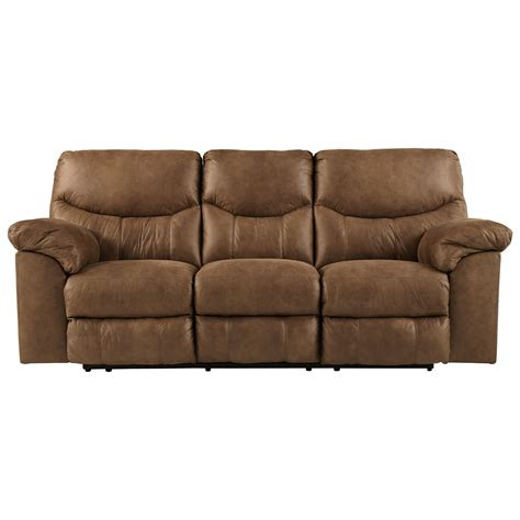 signature design  ashley boxberg casual reclining sofa