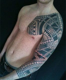 Tribal Tattoos Designs In Shoulders Arms Chest And Back