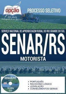 apostila para MOTORISTA concurso SENAR RS