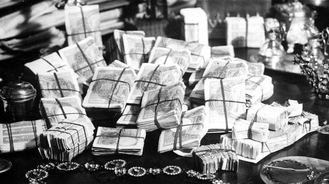 El ama de casa que se hizo rica falsificando billetes con enaguas viejas