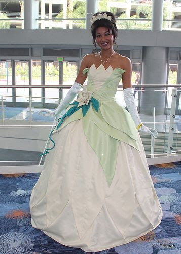 Disney Tiana (The Princess and the Frog) costume cosplay