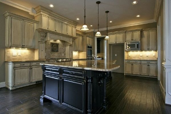 How To Antique Kitchen Cabinets With Glaze