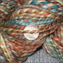 Reef yarn, close up