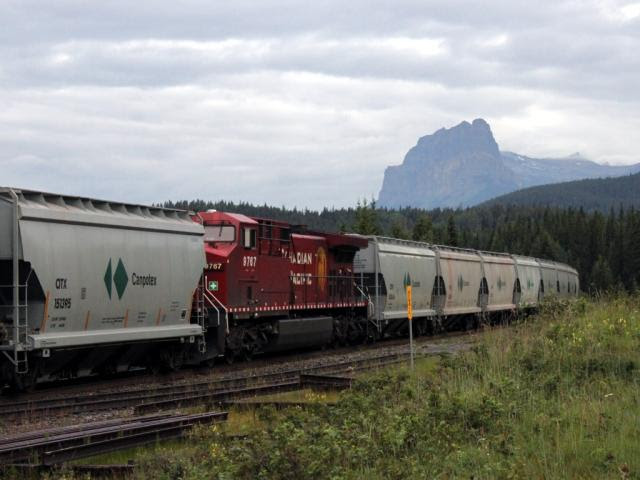 CP 9767 in Massive siding