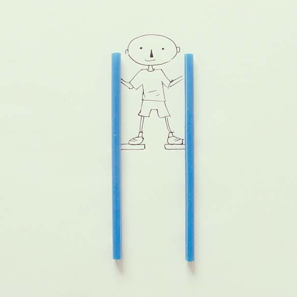 Δίνοντας ζωή σε καθημερινά αντικείμενα με ένα στυλό (33)