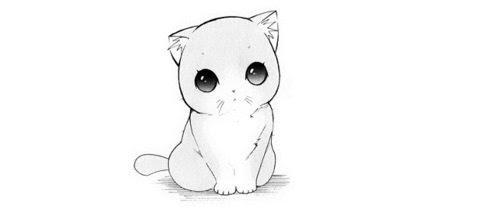Kitty Cat Art Cute Anime Kawaii Cartoon Kitten Manga Lt 3 Cute Cat Neko Cat Anime Snuffii