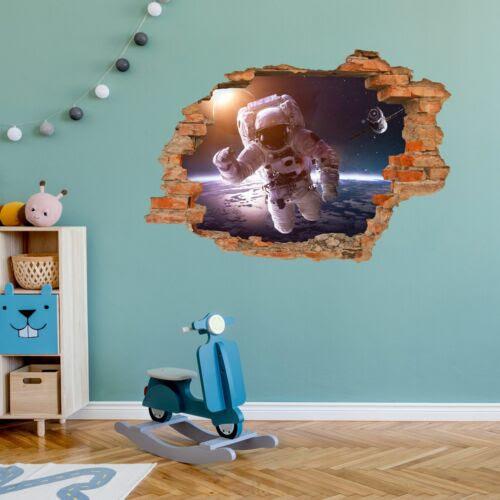 Home Decor Weltall Kosmonaut Weltraum Zimmer Loch In Der Wand 176 Wandtattoo Astronaut Home Garden Mod Ng