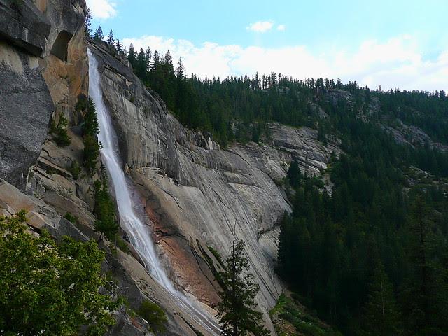 P1180449 Half Dome Trail: Nevada Falls