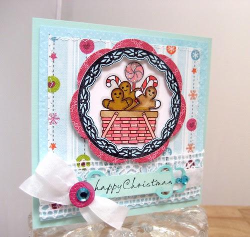 WMSC Pink Gingerbread Christmas