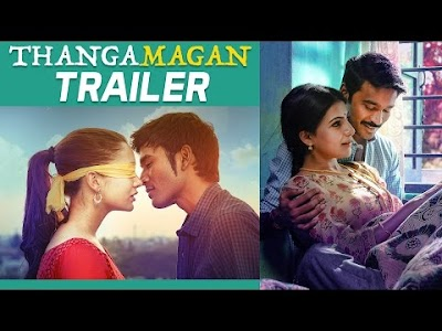 Thanga Magan Official Trailer Review , Dhanush, Amy Jackson and Samantha