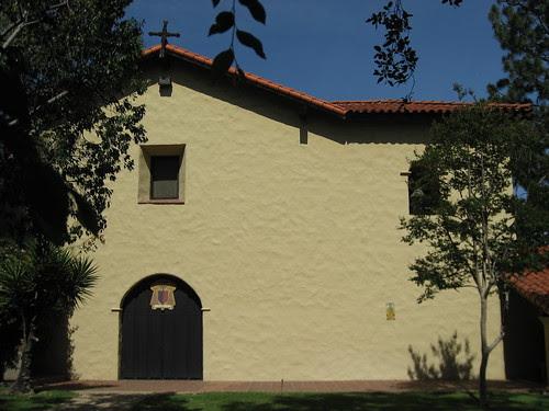 San Fernando Misson - Old Mission Church, rear