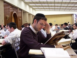 A yeshiva student. Photo: Wikimedia Commons.