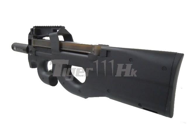 eAiming P90 TR AEG Rifle with Silencer
