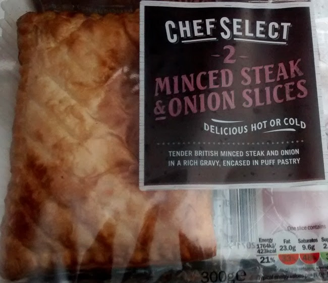 Chef Select Minced Steak & Onion Slices, Lidl. Review ...