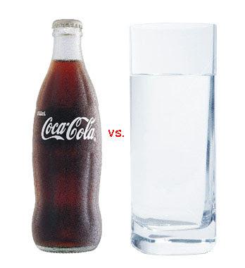 coke versus water: the quickening