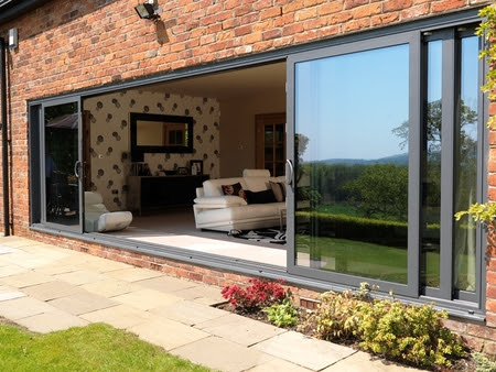 Folding Doors 2 U | Aluminium Patio Doors | Visoglide Triple Track ...