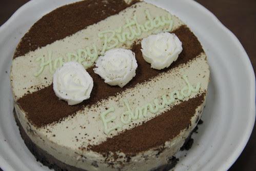 Birthday cake from Tomoko
