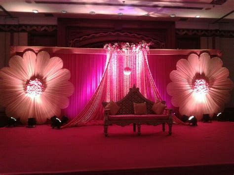 Stage for ring ceremony   wedding indian decor   Pinterest