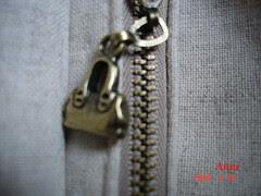 手作黑底印花混搭背袋-3