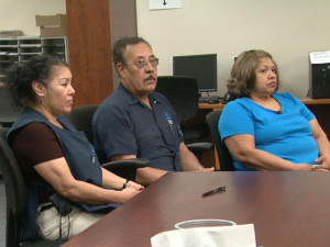 hispanic custodians file discrimination claim