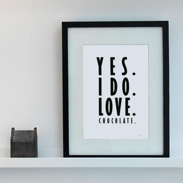 Yes-I-do-love-chocolate-svart