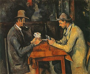 The Card Players 1892-95 Oil on canvas, 60 x 7...