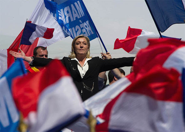 Marine Le Pen in 2012