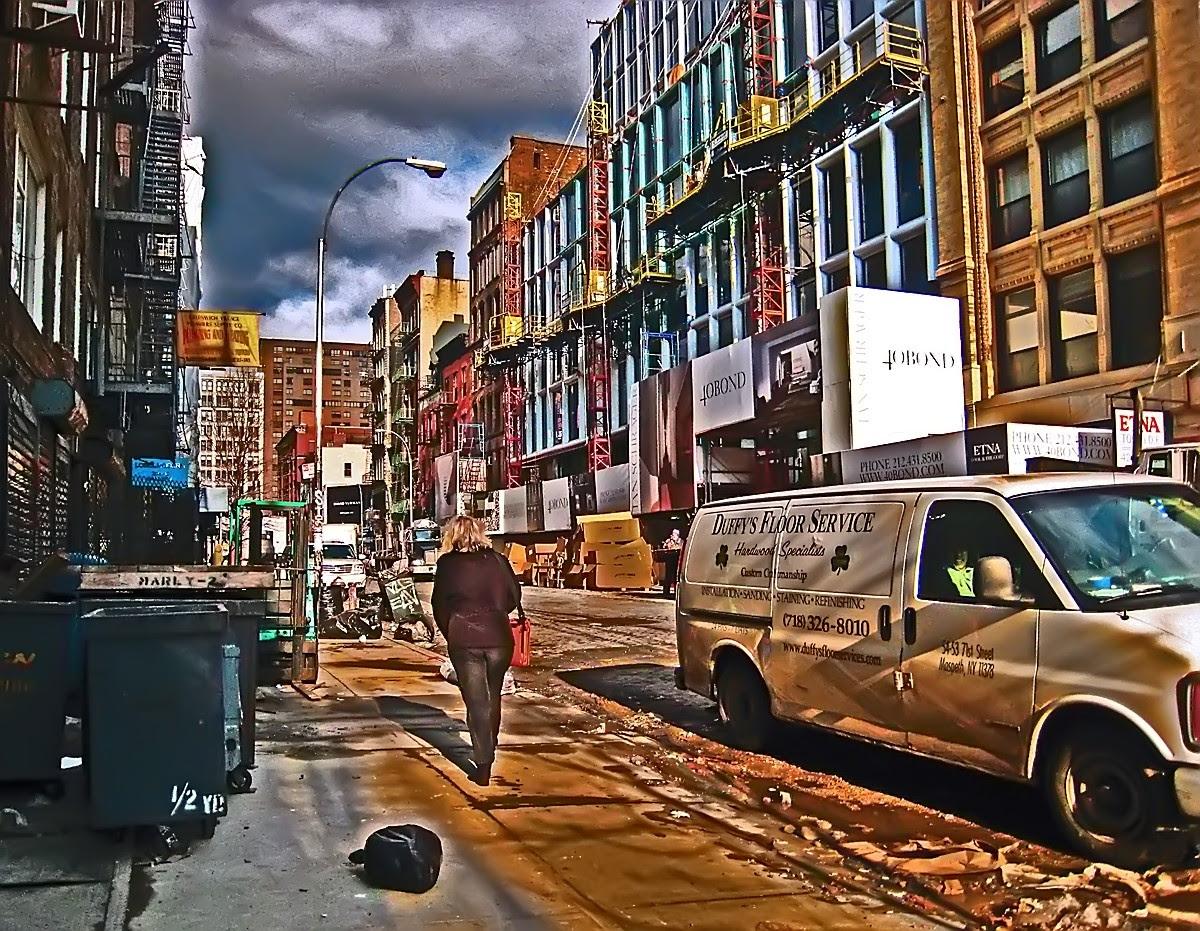 Bond Street in the morning