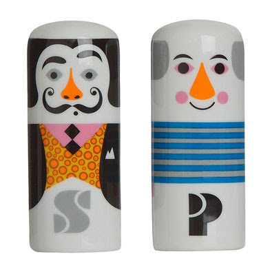 Picasso and Dali salt and pepper shakers