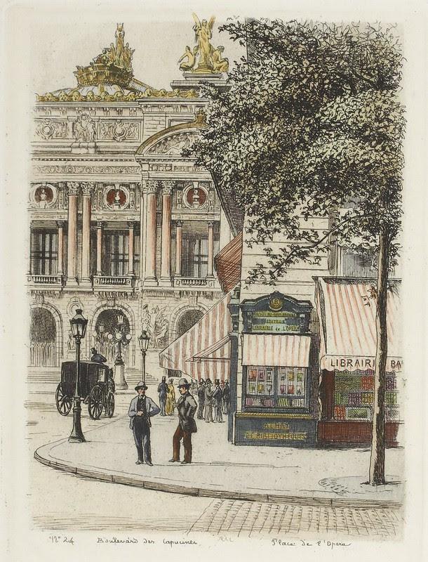 Boulevard des Capucines 1877