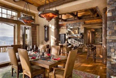 Rustic Modern Interior Design, Rustic Style  Interior design