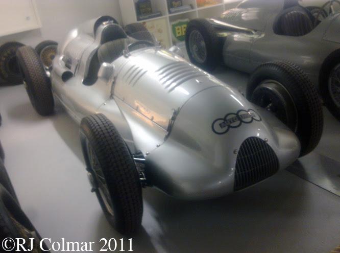 Auto Union Type D, Donington Park Museum