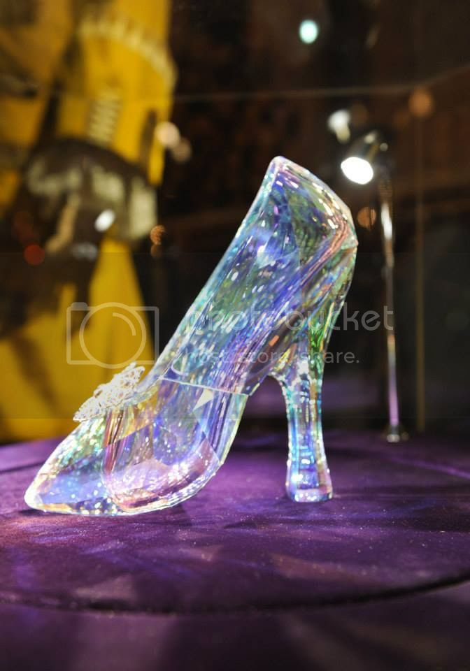 Cinderella Swarovski Shoe